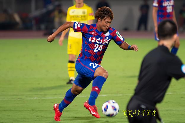 9月5日ルヴァンカップホーム柏戦 曽根田選手
