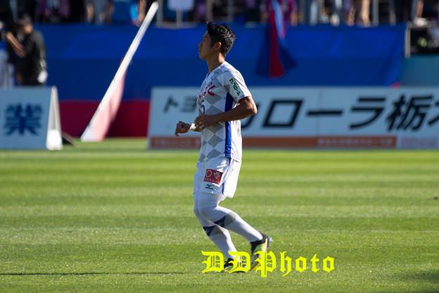 10月21日アウェイ栃木SC戦 高野選手