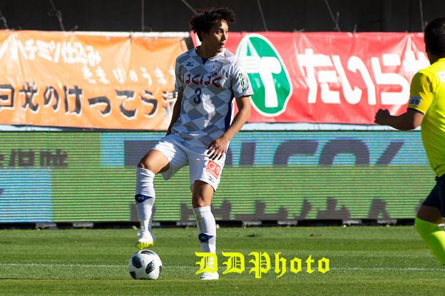 10月21日アウェイ栃木SC戦 ビョン選手