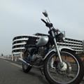 写真: バイク