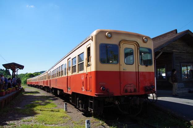 写真: 小湊鉄道上総中野駅