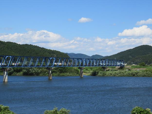 北上川の風景