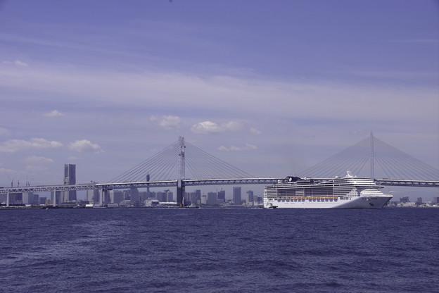 MSCスプレンディダ入港