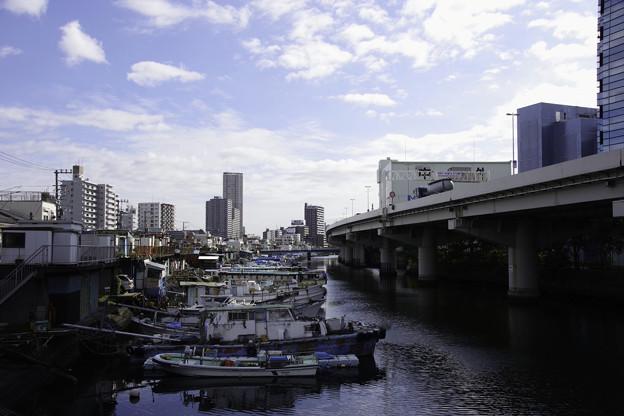 船溜まりの風景