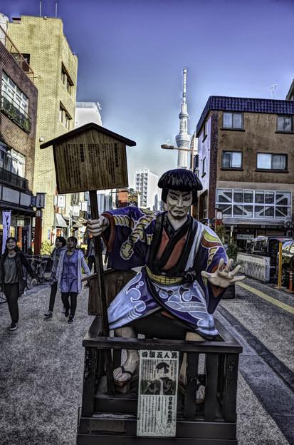 Photos: 浅草でスナップ