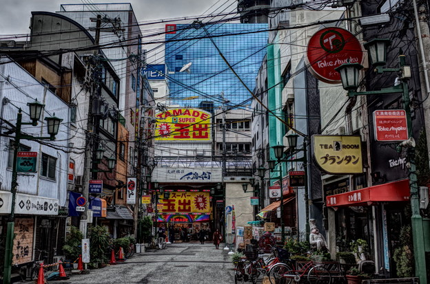 大阪の街角