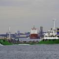 冬の京浜運河