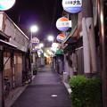 路地裏の夕暮れ