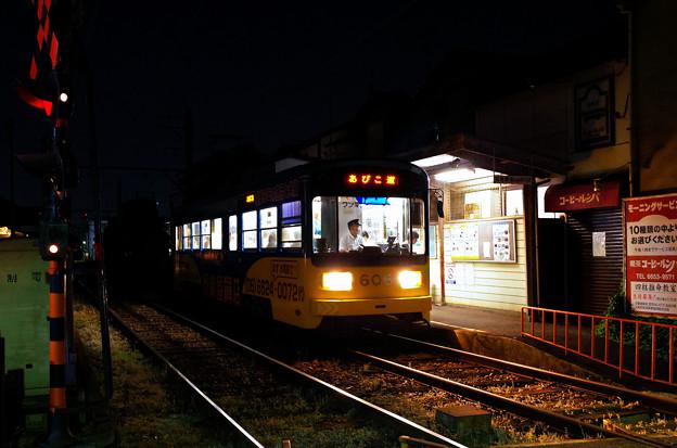 夕暮れの阪堺