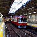 朝の品川駅