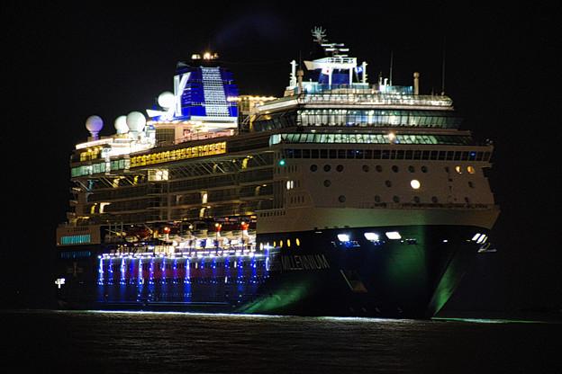 Photos: セレブリティ・ミレニアム入港
