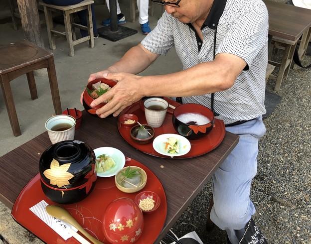 横浜三渓園の朝粥最終回に行ってきた