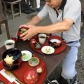 写真: 横浜三渓園の朝粥最終回に行ってきた