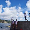 写真: 小笠原の子供たち1