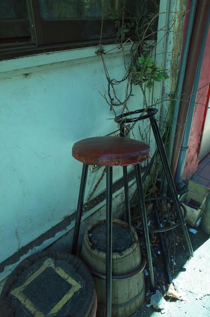 ディープ三軒茶屋の椅子