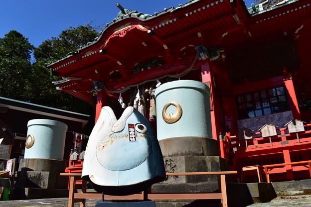 海南神社はマグロ神社