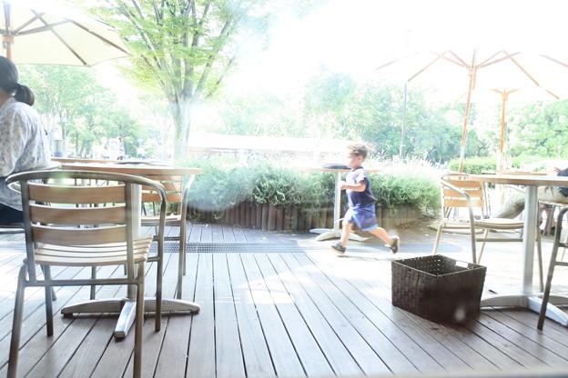 夏の日のカフェ