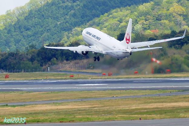 JAL 岡山空港