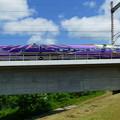 写真: 「エバンゲリオン新幹線」