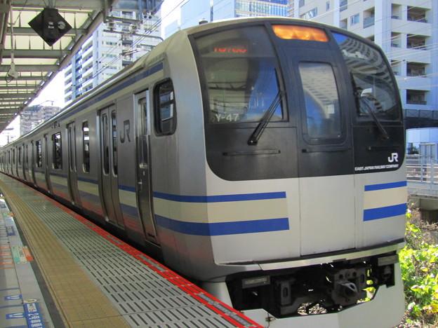 No.43 JR東日本 E217系横須賀総武快速線 横須賀線武蔵小杉駅