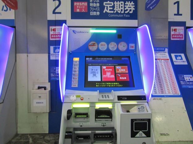 小田急電鉄 券売機 オムロンV8