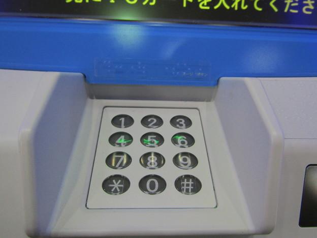 小田急電鉄 券売機 オムロン V8の数字ボタン