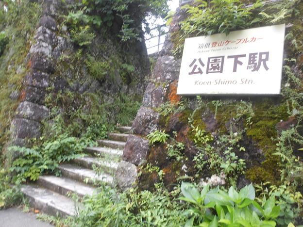 No.281 OH58 箱根登山鉄道鋼索線 公園下駅 北側出入り口