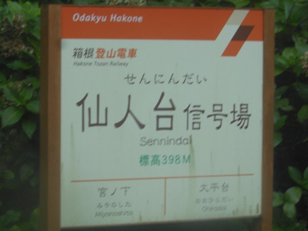 No.301 箱根登山鉄道 仙人台信号場 Hakone Tozan Railway Sennin-Dai Signal Space