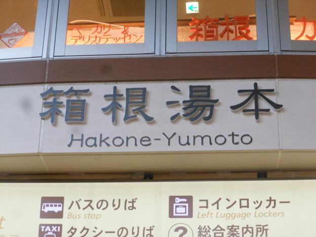 No.309 OH51 箱根登山鉄道 箱根湯本駅 駅名