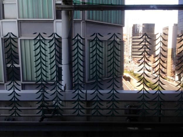 No.324 U01 ゆりかもめ 新橋駅 柳縞文様 Yurikamome Shinbashi Station~Yanagi-Jima Mon-yō~