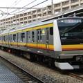 Photos: No.353 JR東日本南武線 E233系8000番台 横ナハN4編成 クハE233-8004 宿河原駅通過 その1
