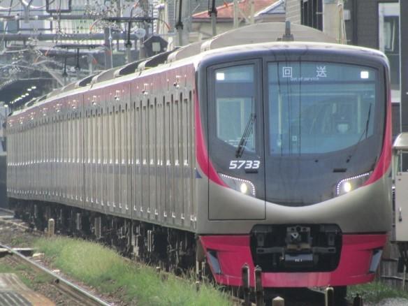 No.382 京王電鉄5000系5733編成 回送@2020.06.05西調布駅