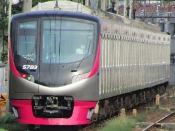 No.383 京王電鉄5000系5783編成 回送@2020.06.05西調布駅