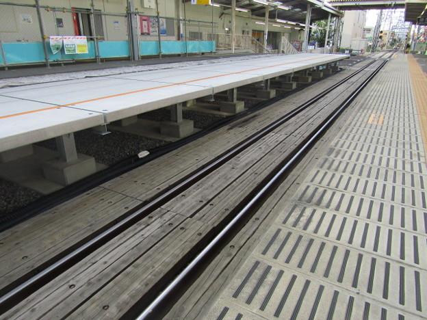 No.391 SW03 西武鉄道 多摩川線 多磨駅(東京外大前)改修工事(2020.06.05)その1 Seibu Railway Tama Station