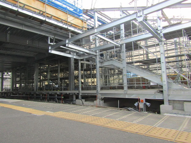 No.392 SW03 西武鉄道 多摩川線 多磨駅(東京外大前)改修工事(2020.06.05)その2 Seibu Railway Tama Station
