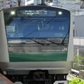 Photos: JR東日本E233系ハエ128編成@2020.11.28武蔵小杉駅