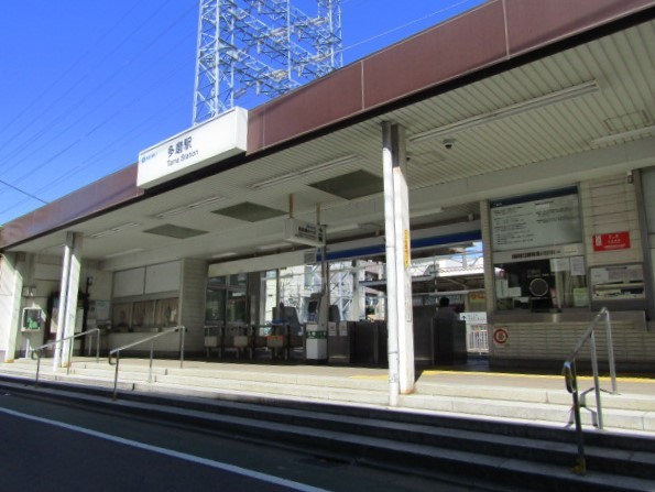 No.747 SW03 西武鉄道 多摩川線 多磨駅 駅舎(2020.6)Seibu Railway Tamagawa Line Tama Station