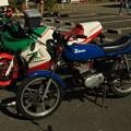 スズキ RG50Eとイタリアホンダ NS125R