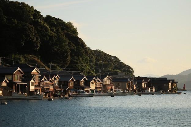 伊根町の舟屋