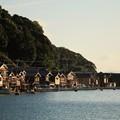写真: 伊根町の舟屋