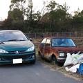 写真: かつての我が家の愛車と