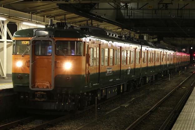 Photos: 高崎駅に停車中の115系