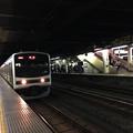 日光線終電車