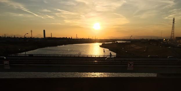 新幹線 荒川越え