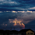Photos: 空は面白い 毒々しく  もうちょっと