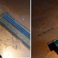 Photos: IHクッキングヒータのコゲはプラスチックスクレーパーで