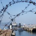 Photos: 鉄条網の先は国家機密
