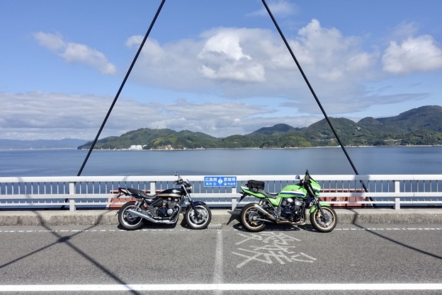 県境を跨ぐ橋