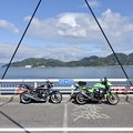 Photos: 県境を跨ぐ橋