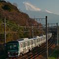 日比谷線 甲種 富士山